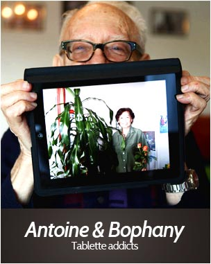 Antoine & Bophany Tablette addicts